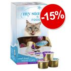 Lot mixte My Star Milky Cups pour chat : 15 % de remise !