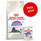 Lot mixte Royal Canin Sterilised pour chat âgé stérilisé