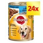 Lot Pedigree Classic 24 x 400 g