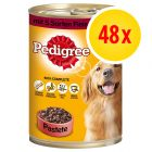 Lot Pedigree Classic 48 x 400 g