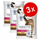 Lot Perfect Fit 3 x 1,4 kg pour chat