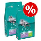 Lot Purina ONE 9 kg pour chat