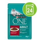 Lot PURINA ONE 24 x 85 g pour chat