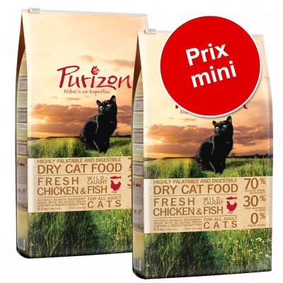 Lot Purizon Adult sans céréales pour chat