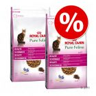 Lot Royal Canin Pure Feline 2 x 3 kg pour chat