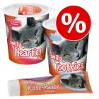 Lot Smilla Hearties + Toothies + pâte au fromage pour chat