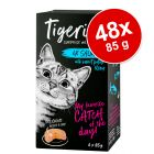 Lot Tigeria 48 x 85 g pour chat