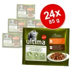 Lot Ultima Cat 24 x 85 g pour chat