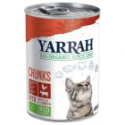 Lot Yarrah Bio 12 x 405 g pour chat