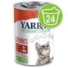Lot Yarrah Bio 24 x 400/405 g pour chat