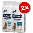 Lot Affinity Advance Medium pour chien