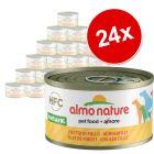Lot Almo Nature Classic pour chien, 12 x 95 g
