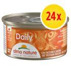 Lot Almo Nature Daily Menu 24 x 85 g