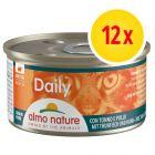 Lot Almo Nature Daily Menu 12 x 85 g