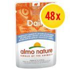 Lot Almo Nature Daily Menu 48 x 70 g