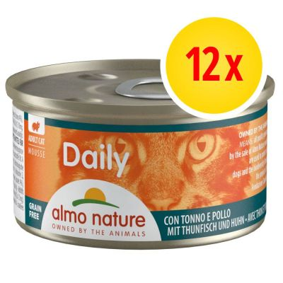 Lot Almo Nature Daily Menu 12 x 85 g