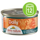 Lot Almo Nature Daily Menu 12 x 85 g pour chat