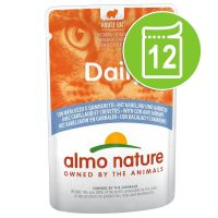 Lot Almo Nature Daily Menu 12 x 70 g pour chat