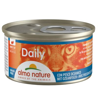 Lot Almo Nature Daily 12 x 85 g pour chat