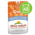 Lot Almo Nature Daily 48 x 70 g pour chat