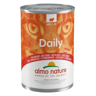 Lot Almo Nature Daily 48 x 400 g pour chat