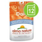 Lot Almo Nature Daily 12 x 70 g pour chat
