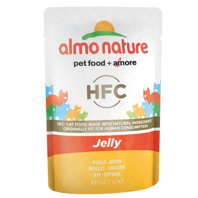 Lot Almo Nature HFC Jelly 12 x 55 g pour chat
