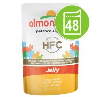 Lot Almo Nature HFC Jelly 48 x 55 g pour chat