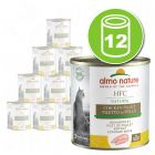 Lot Almo Nature HFC Natural HFC 12 x 280 g pour chat