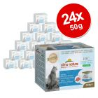 Lot Almo Nature HFC Natural Light 24 x 50 g pour chat