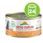 Lot Almo Nature HFC Natural Made in Italy 24 x 70 g pour chat