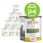 Lot Almo Nature HFC Natural 24 x 280g pour chat