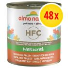 Lot Almo Nature HFC 48 x 280g