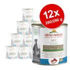 Lot Almo Nature HFC 12 x  280 g / 290 g pour chien