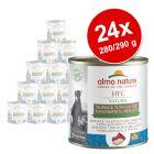 Lot Almo Nature HFC 24 x  280 g / 290 g pour chien