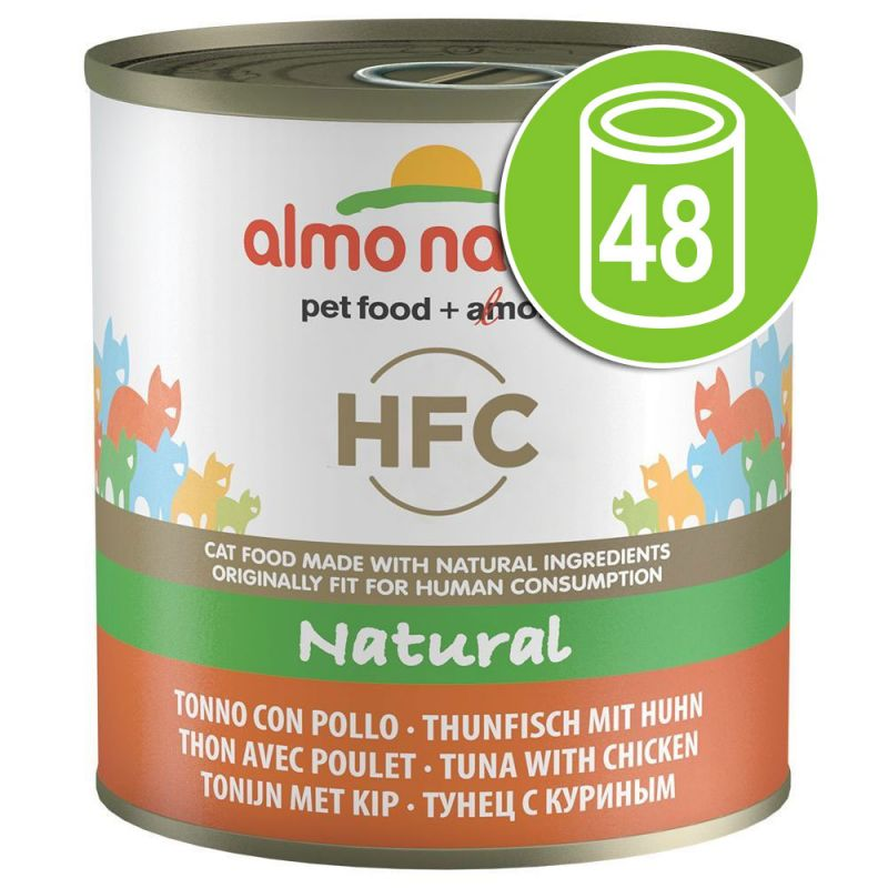 Lot Almo Nature HFC 48 x 280g pour chat