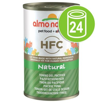 Lot Almo Nature HFC 24 x 140 g pour chat