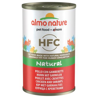 Lot Almo Nature HFC 48 x 140 g pour chat