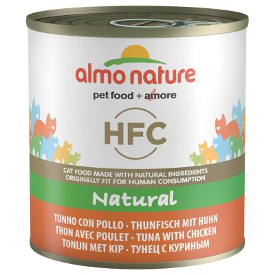 Lot Almo Nature HFC 48 x 280 g pour chat