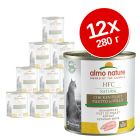 Lot Almo Nature HFC 12 x 280 g pour chat