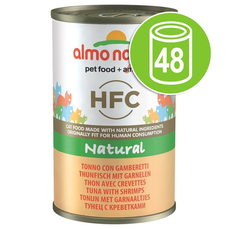 Lot Almo Nature HFC 48 x 140g pour chat