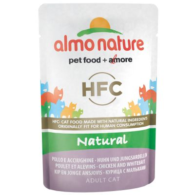 Lot Almo Nature HFC 12 x 55 g pour chat
