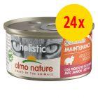 Lot Almo Nature Holistic Maintenance 24 x 85 g