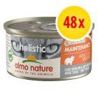 Lot Almo Nature Holistic Maintenance 48 x 85 g