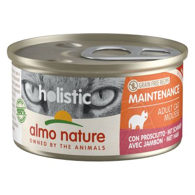 Lot Almo Nature Holistic Maintenance 24 x 85 g pour chat