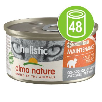 Lot Almo Nature Holistic Maintenance 48 x 85 g pour chat
