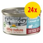 Lot Almo Nature Holistic Specialised Nutrition 24 x 85 g