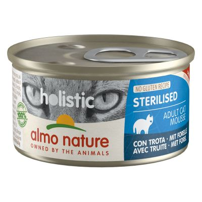 Lot Almo Nature Holistic Specialised Nutrition 24 x 85 g pour chat