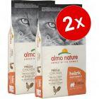 Lot Almo Nature Holistic 2 x 12 kg pour chat