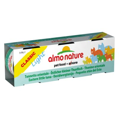 Lot Almo Nature Light 12 x 50 g pour chat